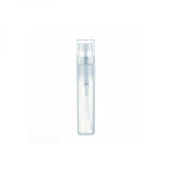 Vial de plastico con vaporizador para perfume 5 ML (Pack con 50 unidades)